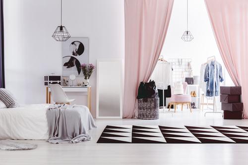 Curtain for closet