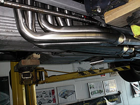 41″ primary pipes between sump and torsion bar