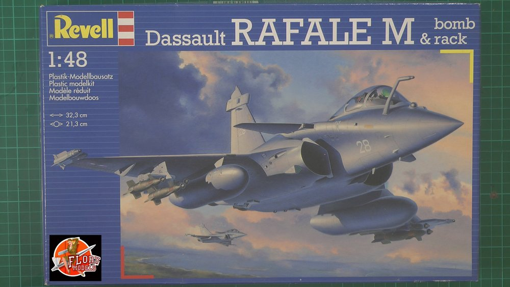 Dassault RAFALE M Scale: 1/48   Manufacturer:    Parts used: Out Of The Box   Main paints used: Tamiya and MRP