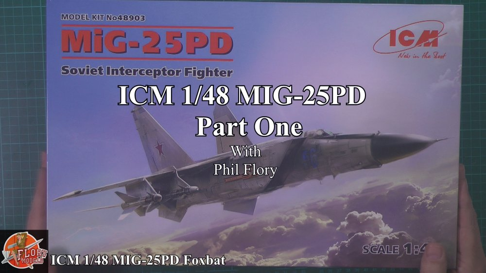MIG-25PD FOXBAT Scale: 1/48   Manufacturer: ICM   Parts used: Out Of The Box   Main paints used: Tamiya and MRP