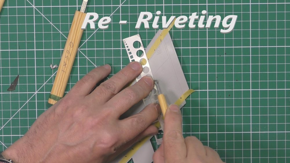 Re -Riveting - Quick tutorial on Riveting to add detail