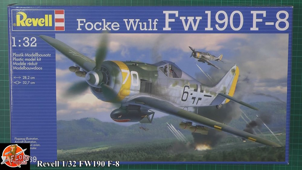 FW-190 F-8 Scale: 1/32   Manufacture: Revell   Parts used: Eduard Update sets SIN63206, SIN63207   Main paints used: AK, Tamiya & Vellejo