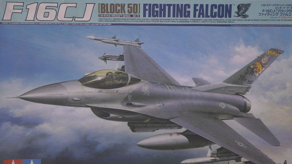 F-16CJ Falcon Scale: 1/32   Manufacture: Tamiya   Parts used: Eduard sets   Main paints used: Tamiya & MRP