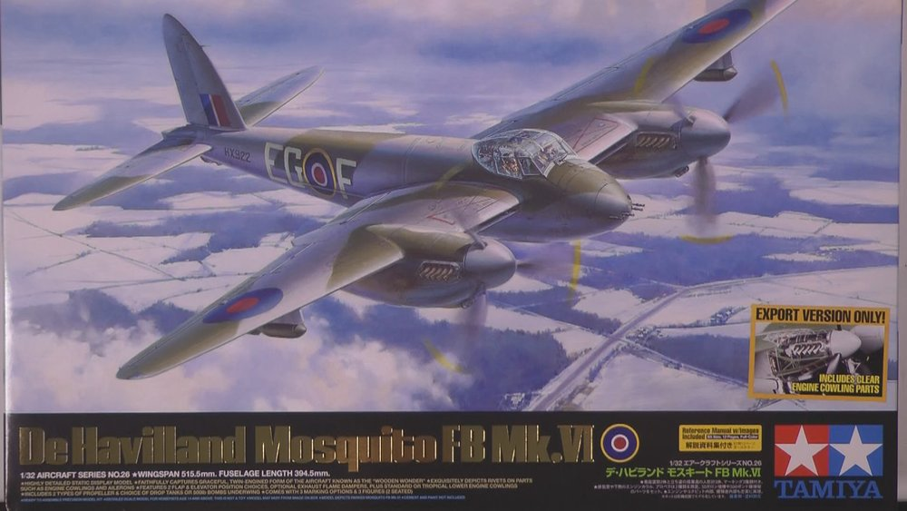 DeHavilland Mosquito FBVI Scale: 1/32   Manufacture: Tamiya   Parts used: Brassin sets 632077,632078,632090,632065, Yahu 3210,HGW 132568   Main paints used: Tamiya & MRP