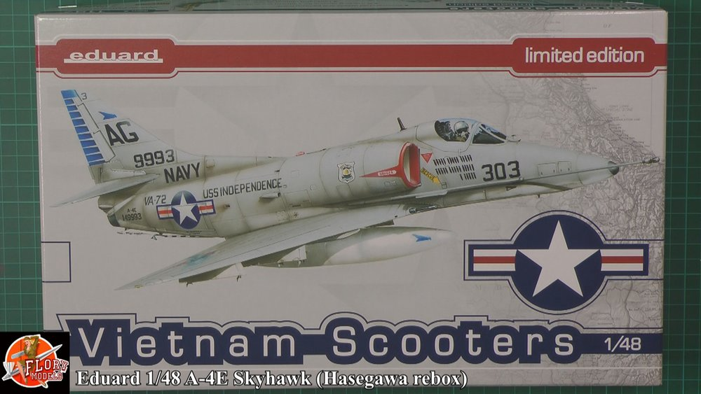 A-4 Skyhawk Scale: 1/48   Manufacture: Hasegawa   Parts used: Out of The Box   Main paints used: Hobby Color, MRP