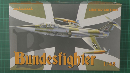 F-104 Starfighter Scale: 1/48   Manufacture: Eduard(Hasegawa rebox)   Parts used: Out Of the Box   Main paints used: Gunzo and AK