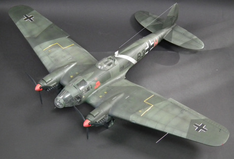 He-111 P1 Scale: 1/32   Manufacture: Revell   Parts used: Eduard Big Edd set   Main paints used: Tamiya and Gunze