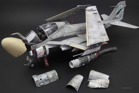 A-6A Intruder Scale: 1/32   Manufacture: Trumpeter   Parts used: Out of the box   Main paints used: Tamiya, Vallejo and Gunzo