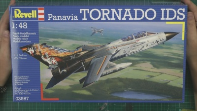 Tornado IDS/GR1 Scale: 1/48   Manufacture: Revell   Parts used: Simple scratch building   Main paints used: Tamiya and Gunze