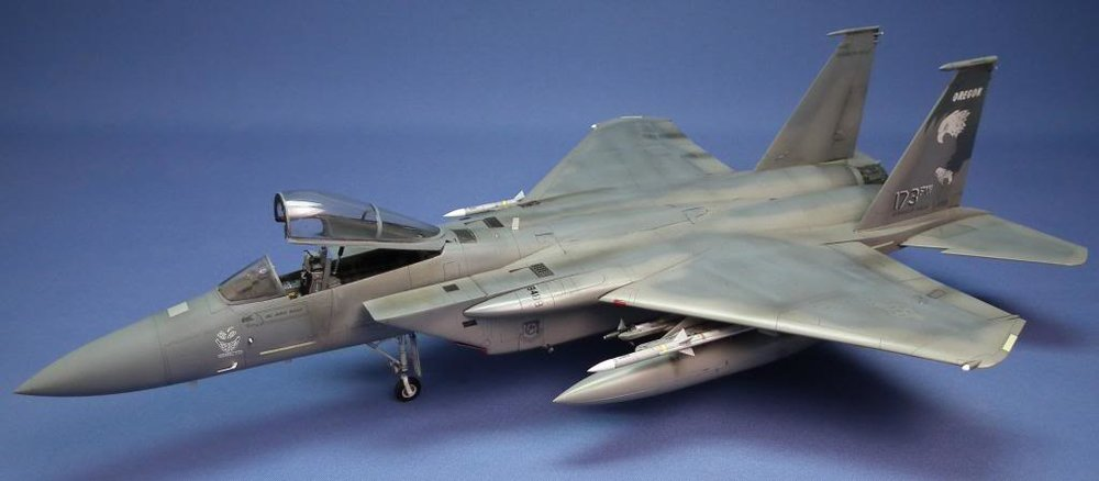 F-15C Eagle Scale: 1/48   Manufacture: Academy   Parts used: Eduard's big Etch set   Main paints used: Tamiya and Xtracrlyix
