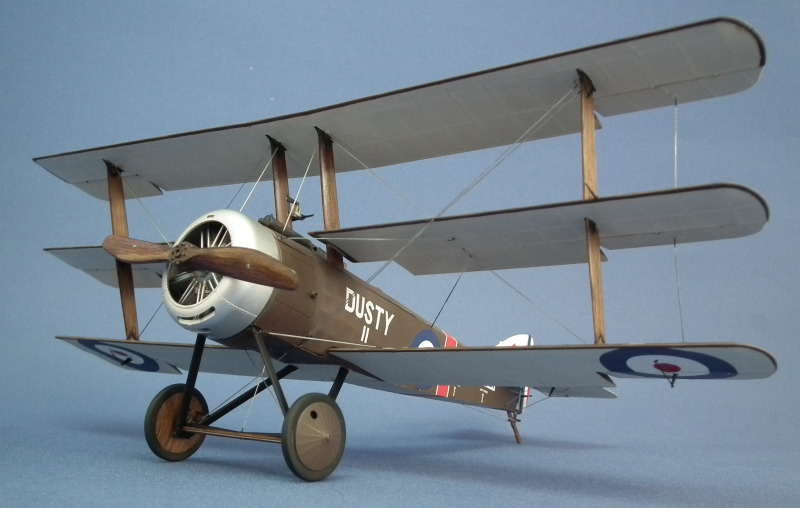 Sopwith Tri Plane Scale: 1/32   Manufacture: Wing Nut Wings   Parts used: Out of the box with RB Productions terminals   Main paints used: Tamiya and Vallejo
