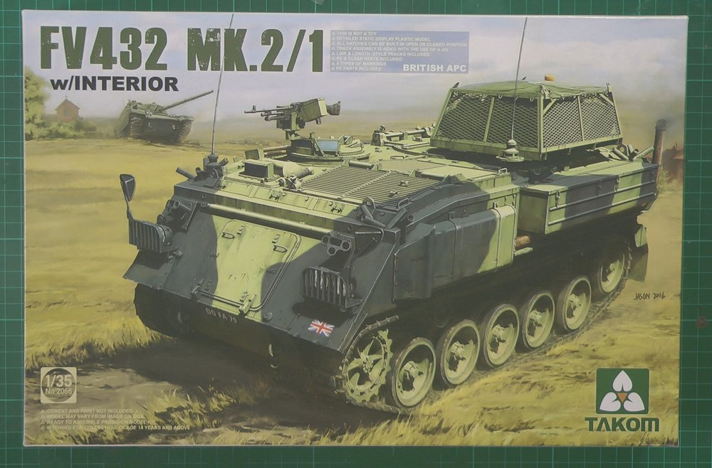 FV-432 Scale: 1/35   Manufacturer: Takom   Parts used: Out Of The Box   Main paints used: Tamiya