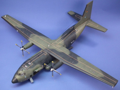 C-160 Transall   Scale: 1/72    Manufacture: Revell   Parts used: Out of the box   Main paints used: Tamiya.