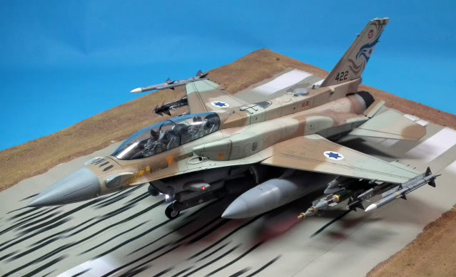 F-16I SUFA   Scale: 1/32 scale Manufacturer: Academy. Parts used: Everything! Main Paints used: Tamiya, Gunzo