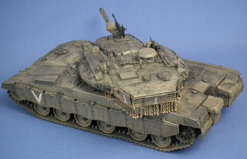 IDF Merkava MK.IIID (LIC) Scale: 1/35   Manufacture: Hobby Boss   Parts used: Out of the box   Main paints used: Tamiya and Vallejo