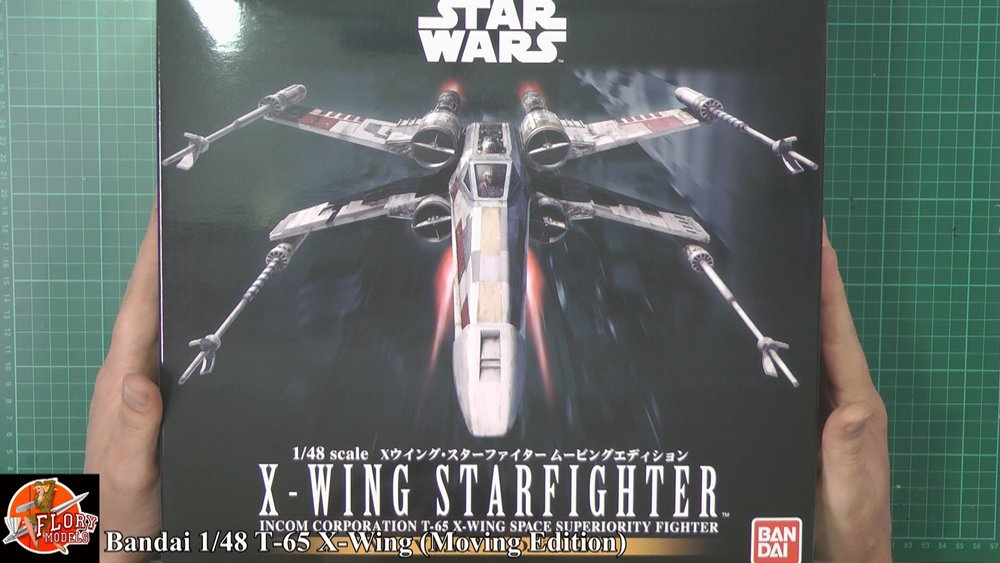 X WING Fighter Scale: 1/49   Manufacture: Bandai   Main paints used: out of the box
