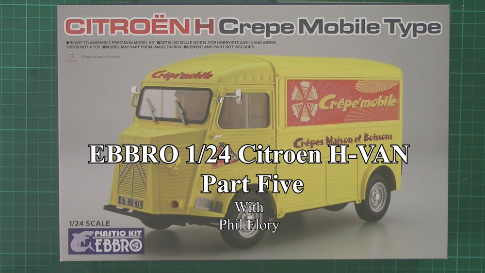 EBBRO Citroen H-VAN Part 5.jpg