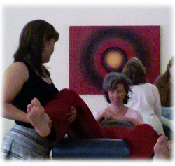 CranioSacral Therapy Classes - Learn CranioSacral Therapy with Janet and others at the Heartwood Institute.