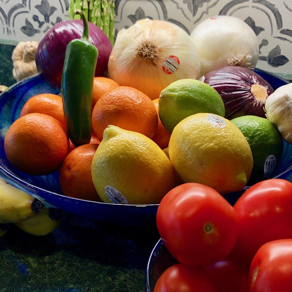 Fruits and Veggies!