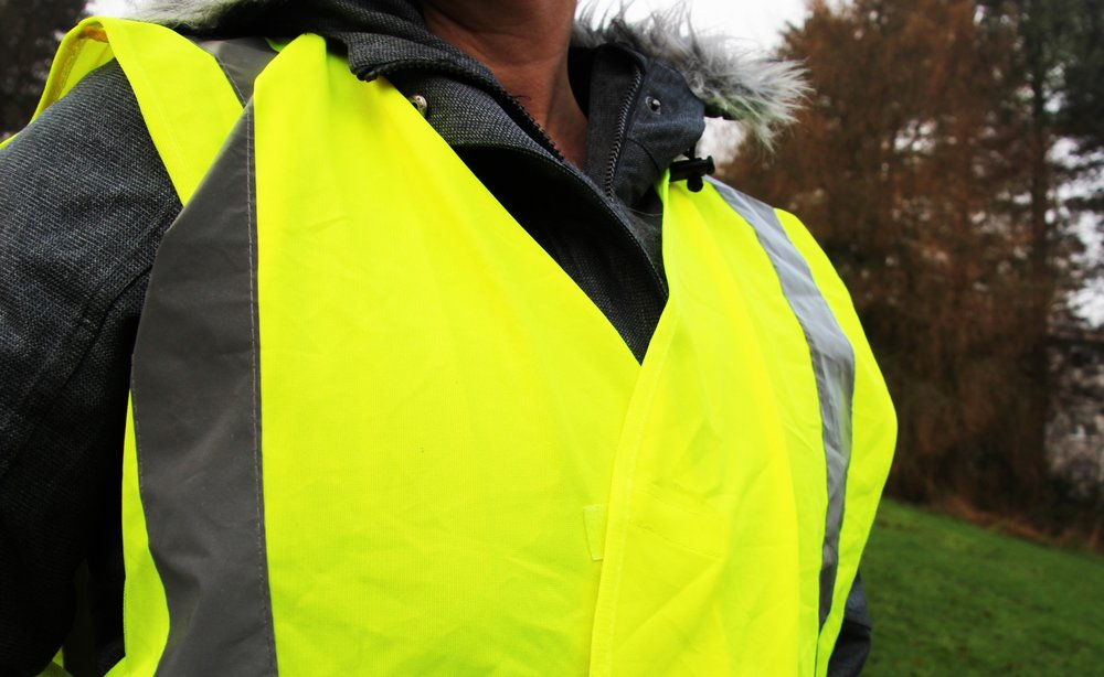 5. Keep a high-viz vest in the car -