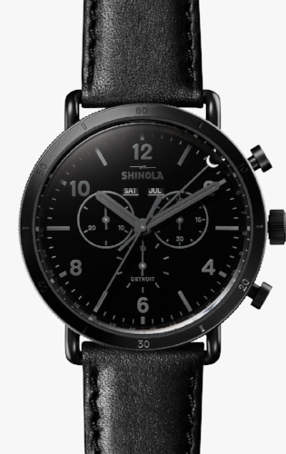 The Canfield Sport Watch - by Shinola
