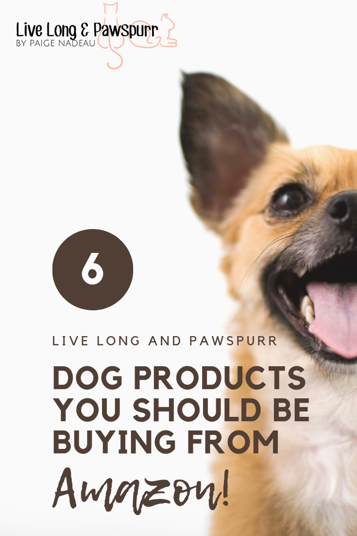 """Dog Products You Should Be Buying From Amazon"""" class="""