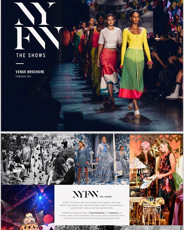 Only the very best for our designers. Top notch exposure along with a gorgeous runway venue 💃🏼🎬 Closing registration December 1 - get your spot before it's too late!