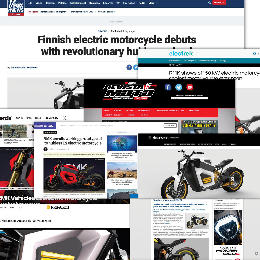 RMK E2 has gathered plenty of attention in the media around the globe.