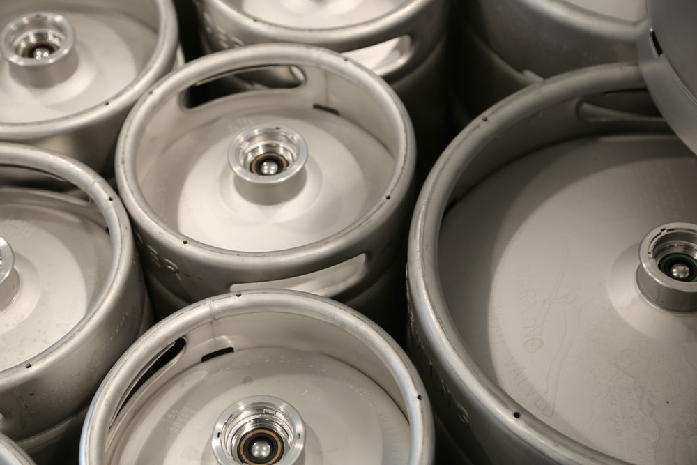 LineSider Brewing Company Kegs