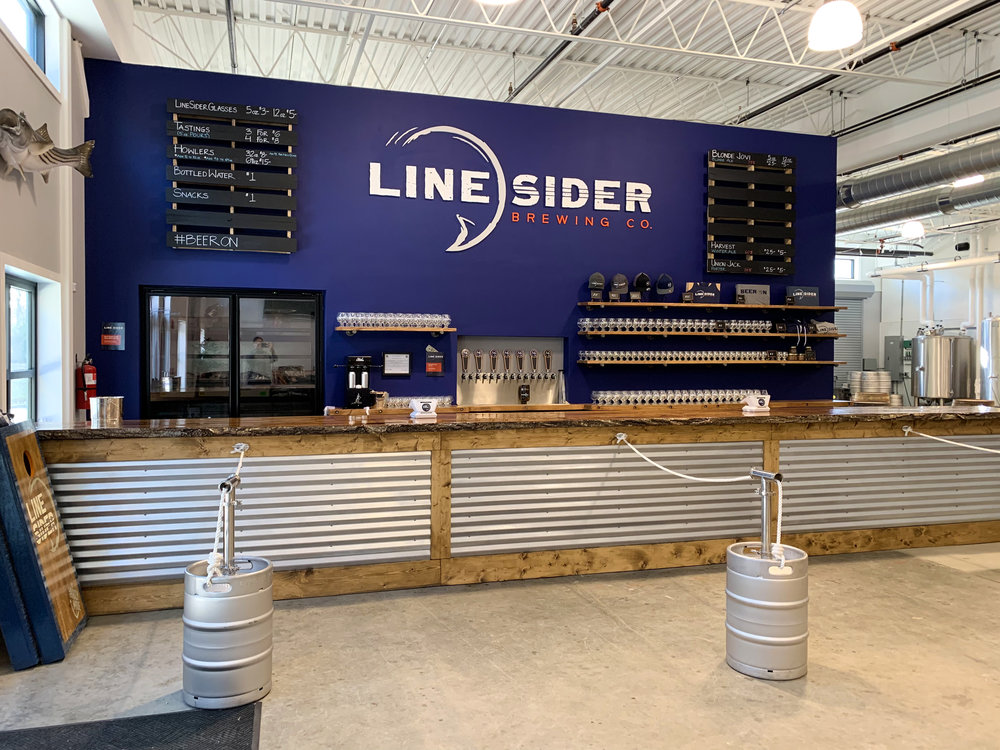 LineSider Brewing Company Tap Room Construction