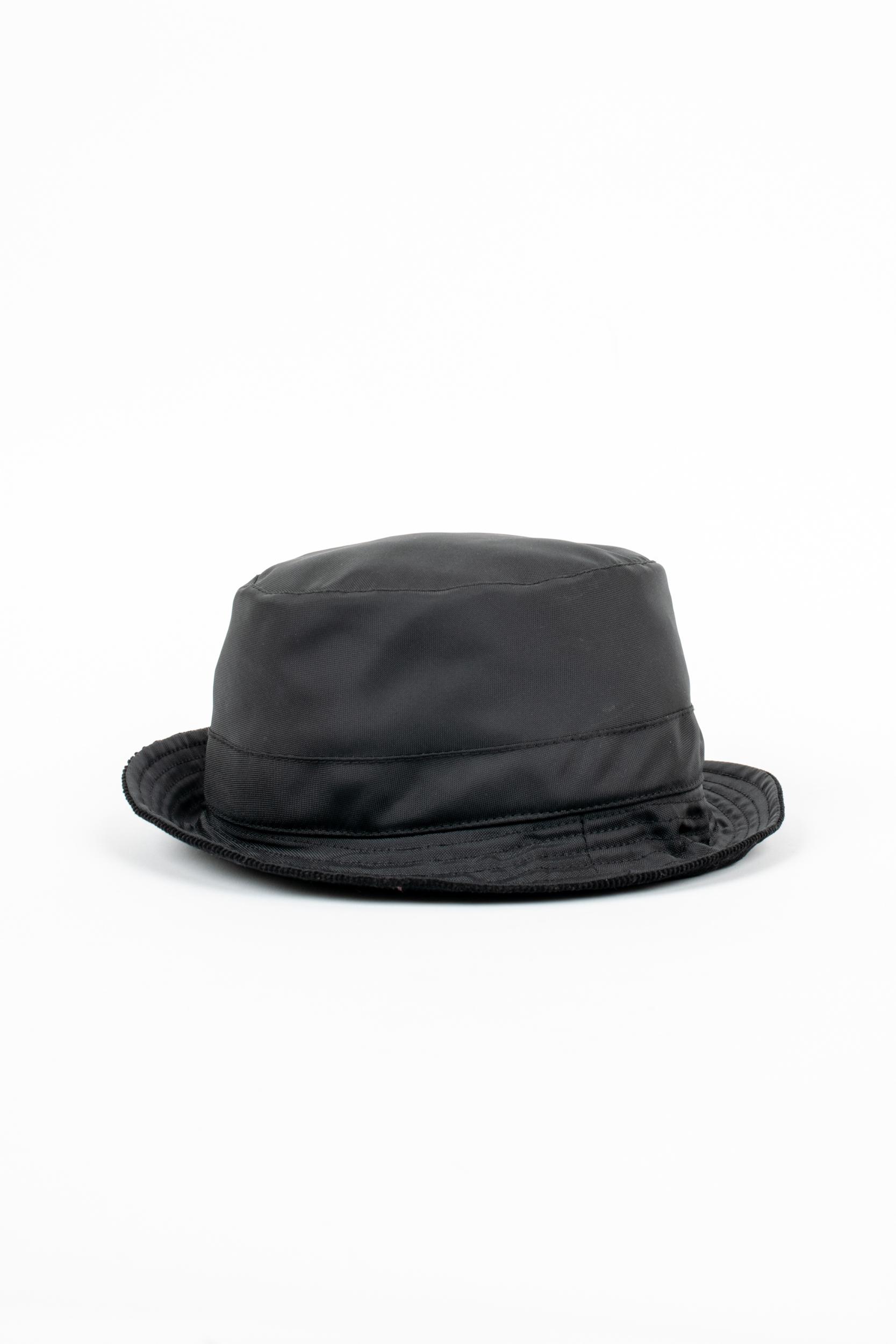 Grevi - Black classic rain hat — Vico dei Bolognesi 6634515119d3