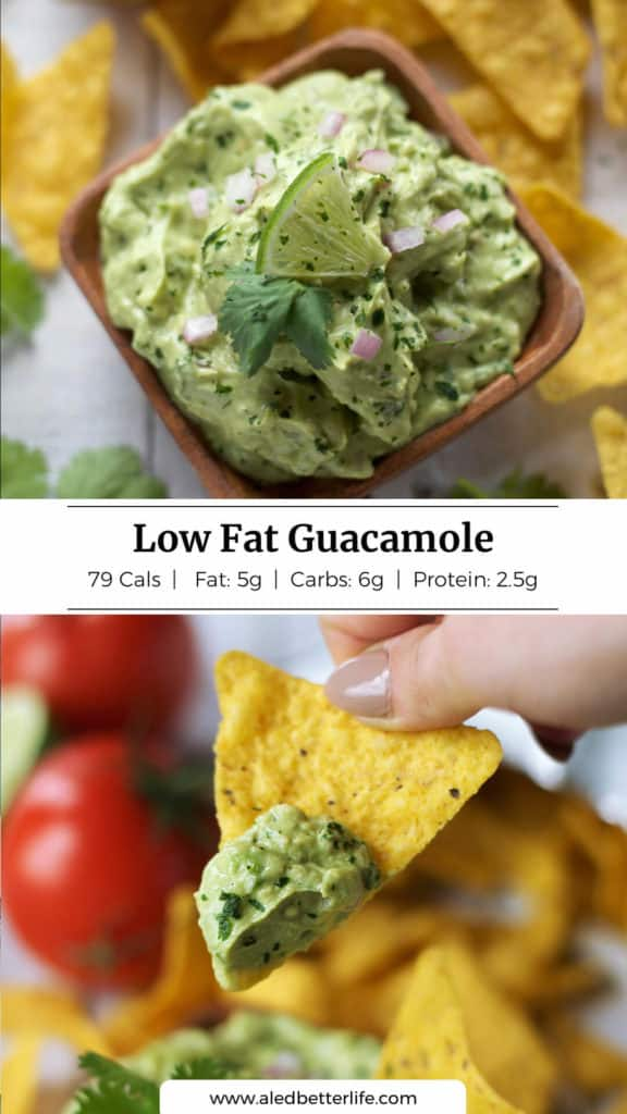 Low Fat Guacamole