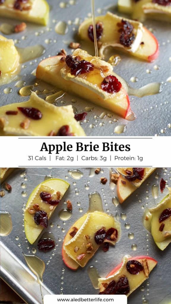 Apple Brie Bites