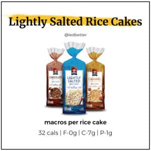 Lightly Salted Rice Cakes