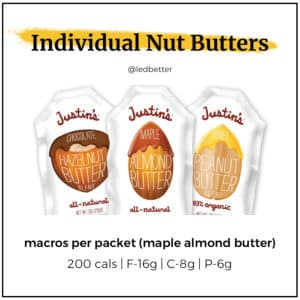Justin's Nut Butters - Maple Almond Butter