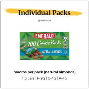 Emerald 100-Calorie Packs - Natural Almonds