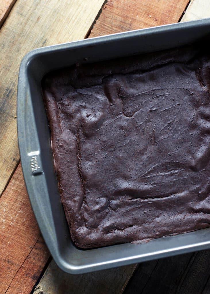 Healthy Peppermint Brownies