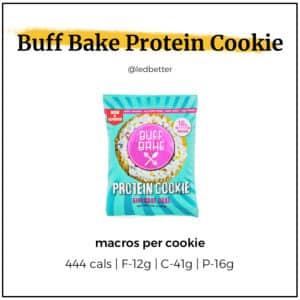 Buff Cake Protein Cookies