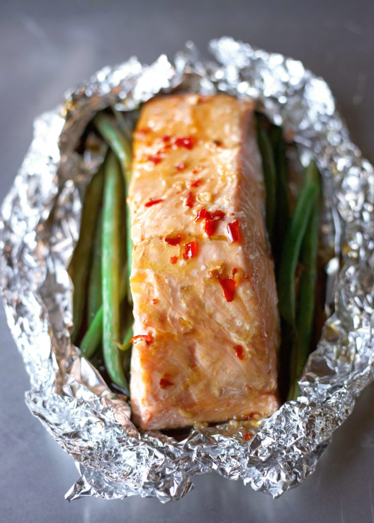Sweet Chili Baked Salmon