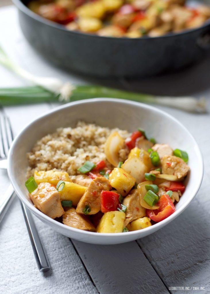 Pineapple Chicken Stir-Fry
