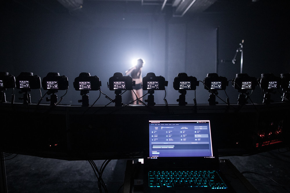Light-painting & bullet-time with Eric Paré