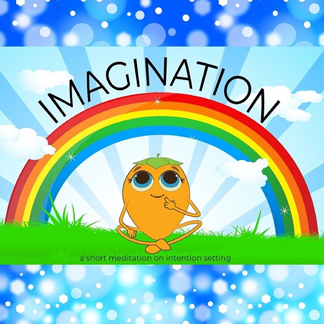 Using your imagination is forming a mental picture in your head of something that excites your mind in a wonderful way.  Sign up for our email newsletter (link in bio) to get free printable kids yoga resources for teachers and parents. . . . . #MountainPose #yogakids #kidsyogaday #kidsyogaclass #kidsyogateachertraining #kidsyogateacher #illustratedyoga #yogapictures #picturebookillustration #yogalessons #imaginationplayground