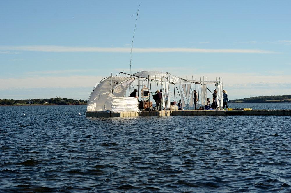 The Floating Warren. Photo: Will Baker.