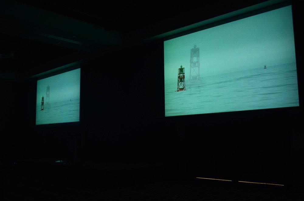 """Hank Bull, video presentation accompanying the talk """"Flow Tilla Thrilla,"""" September 23, 2017."""
