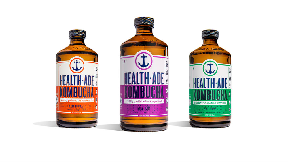 Aside from creating a brand tone and look, we redesigned their probiotic superfoods line to better join the family.