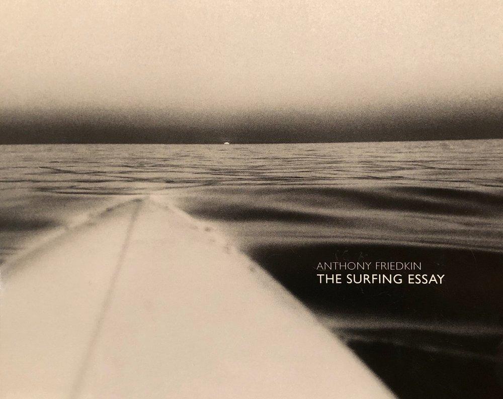 "Books, Zines and New Media  featuring Tony Friedkin's ""The Surfing Essay"", Nick Fahye, George 'Surf 1' Lochman, Takuji Masuda, Norman Ollestad, Tatsuo Takei, Ryan Thomas and Sage Vaughn"