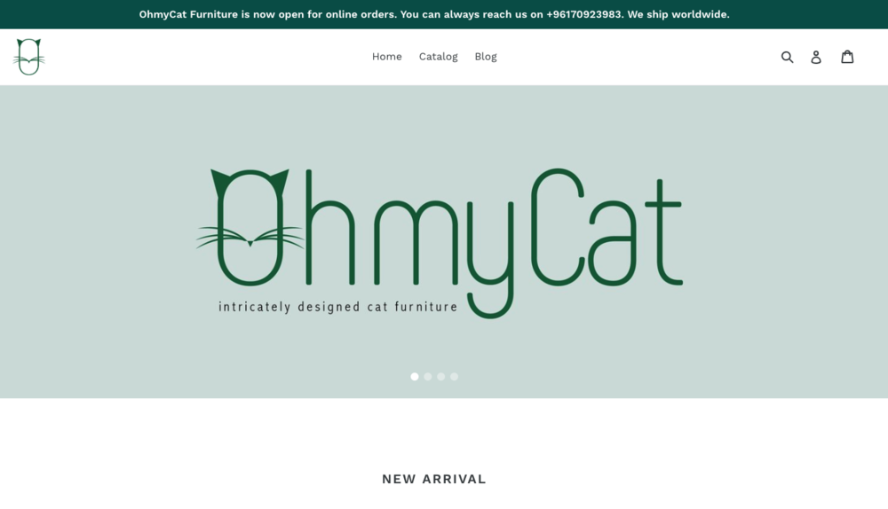 OhMyCat     (e-commerce for cat lovers)