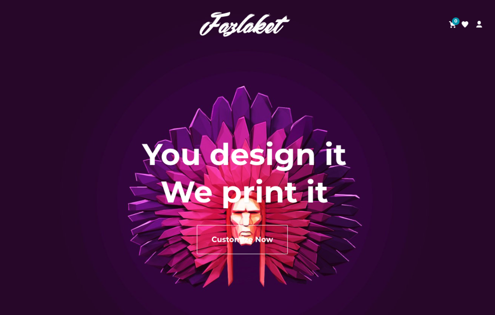 Fazlaket   (online design marketplace)