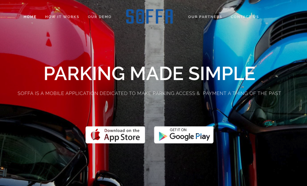 SoffaParking   (mobile parking solution)