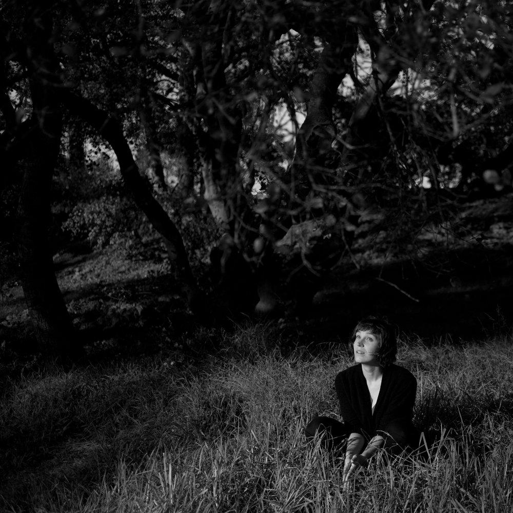 Evelyn in Golden Gate Park.